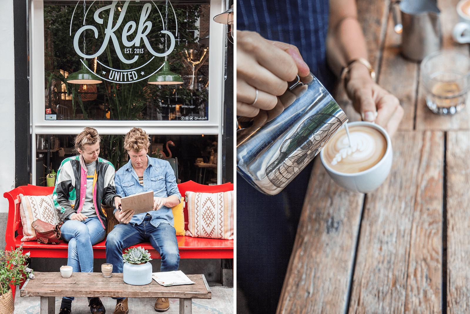 Altijd maar die cappuccino wat saai? Bij KEK in Delft werden we verrast door een wel hele bijzondere Beetroot latte. Moesten we natuurlijk proberen. Of het ook lekker was? Zeker!