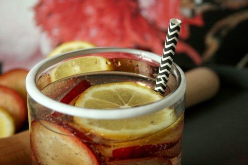 Plum Sour Mocktail