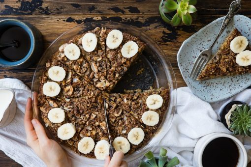 Bananenbrood. Ontbijt. Overnight oats. Breakfast. Pimp up that breakfast. Instagrammable breakfast. Fotogeniek ontbijt.