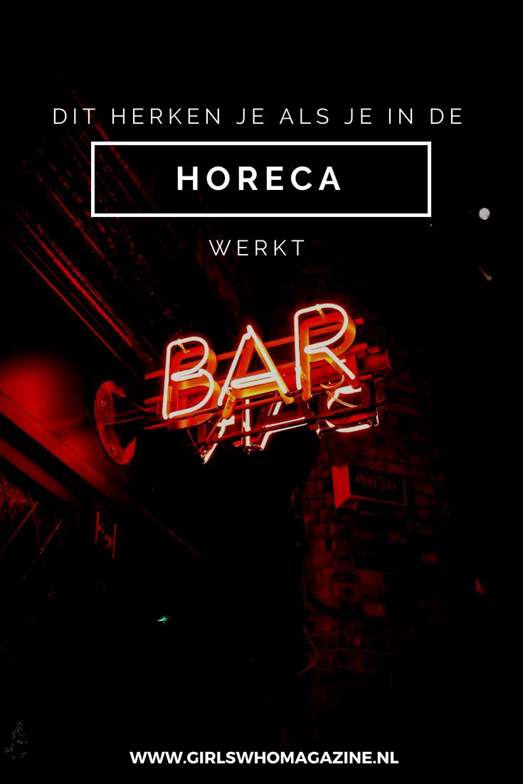 Werk jij in de Horeca? Dan ben je vast wel een van deze situaties tegen gekomen! #horecawerk