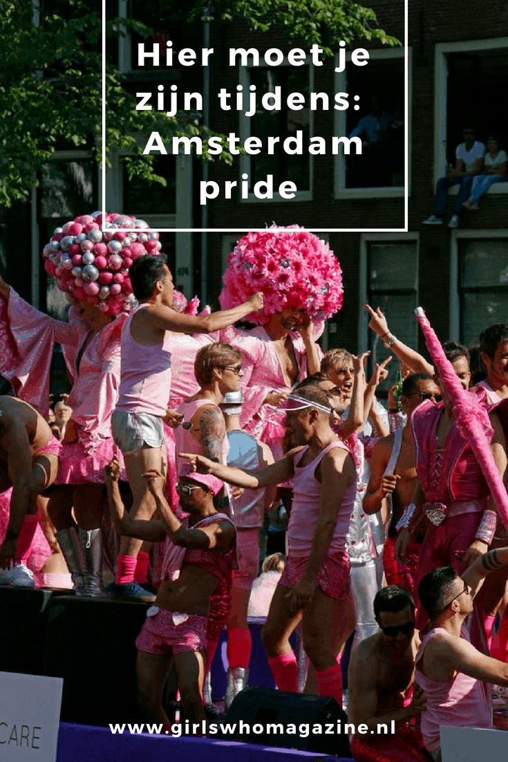 PRIDE AMSTERDAM. PRIDE GUIDE 2018. GAY PRIDE AMSTERDAM. Ga jij de Amsterdam pride vieren? Dit zijn de leukste plekken waar je moet zijn op deze feestelijke dag!
