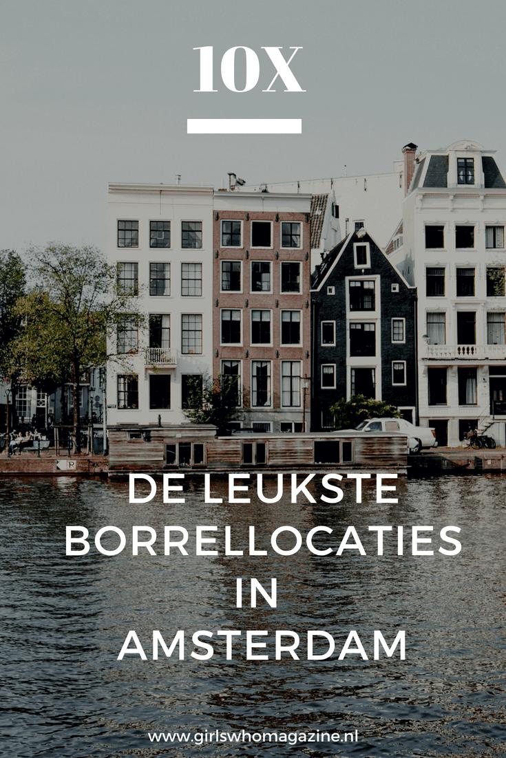 De leukste borrellocaties in Amsterdam. Er zijn vele zaakjes waar je een leuke borrel kan doen in Amsterdam maar wij hebben een lijst gemaakt met de 10 beste borrellocaties in Amsterdam #borreleninamsterdam #amsterdam