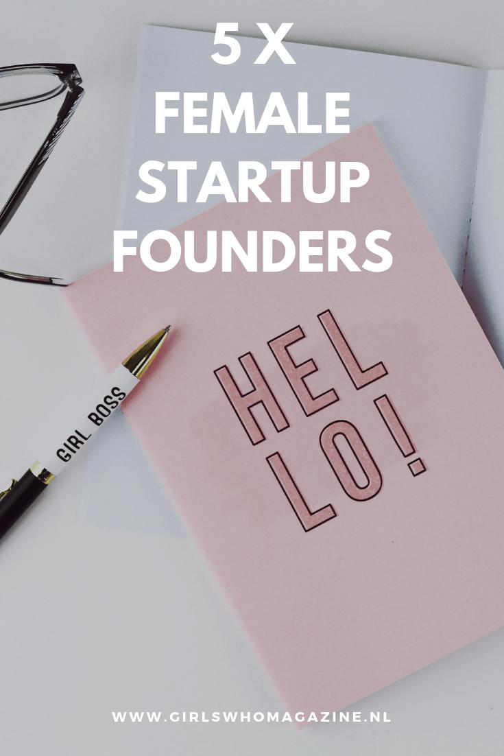 Bedrijven die opgezet zijn door vrouwen. Binnenkort gaan de pitchen van Next Woman weer helemaal los en wij selecteerde voor jou 5X startups die opgezet zijn door vrouwen