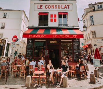 terrassen in parijs