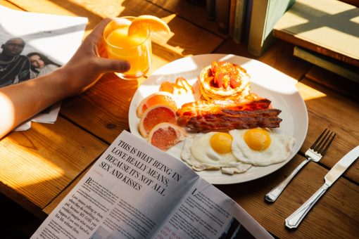 unsplash - breakfast